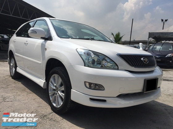 2005 TOYOTA HARRIER 240 G POWER BOOT BODYKIT