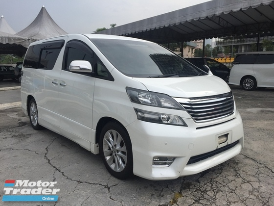 2008 TOYOTA VELLFIRE 2.4 Z 2 POWER DOOR RAYA SALES