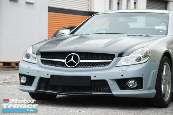 Mercedes r230 sl350 grill amg grille bodykit exterior - Mercedes benz exterior car care kit ...