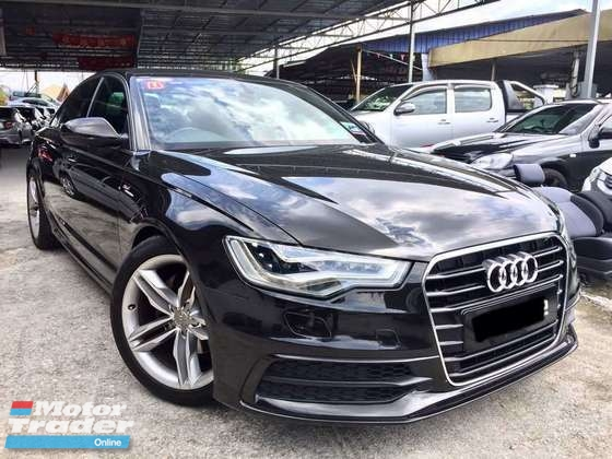 2012 AUDI A6 2.0 (A) S-LINE LOCAL FULL SPEC TIPTOP