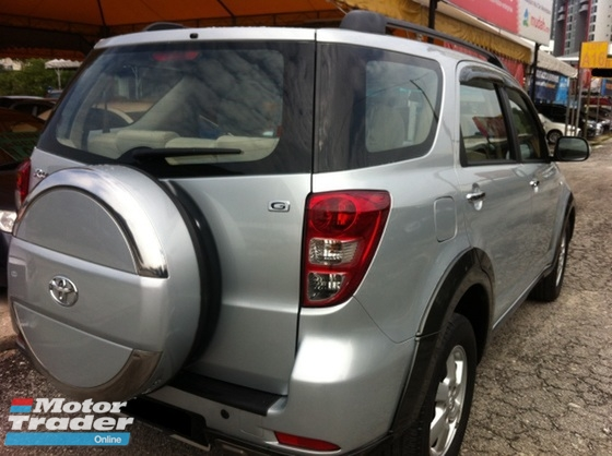 2009 TOYOTA RUSH 1.5G (AT) One Owner,7 Seater,Tip Top Condition,Accident Free.....