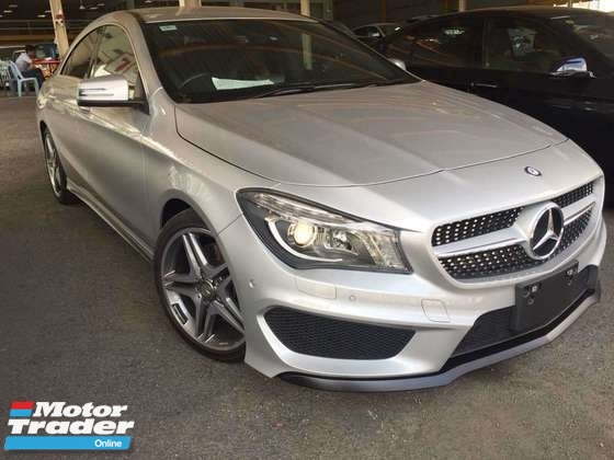 2015 MERCEDES-BENZ CLA Unreg CLA250 CLA 250 AMG sedan