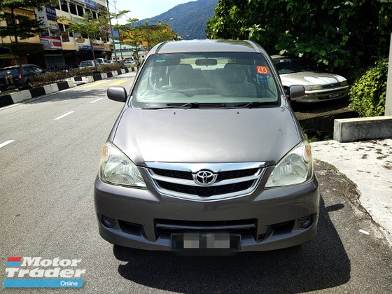 2009 TOYOTA AVANZA 1.5 E FULL(AUTO)2009 Only 1 Careful LADY Owner, 91K Mileage, TIPTOP, ACCIDENT-Free, DIRECT-Owner, NEGOTIABLE with AIRBEGs