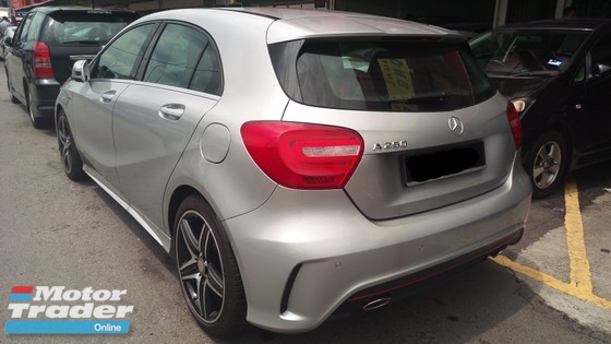2015 MERCEDES-BENZ A250 2.0 AMG CBU TRUE YEAR MADE 2015 GST 0 Mil 6000 km only Like new
