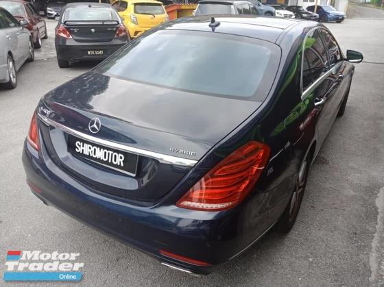 2014 MERCEDES-BENZ S-CLASS S400L HYBRID(A) LOCAL CAR