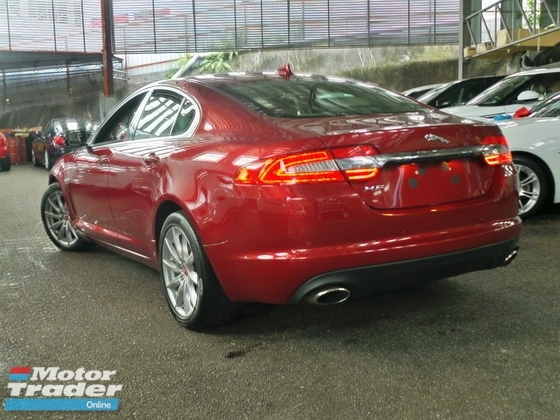 2014 JAGUAR XF ** KERETA MURAH STOCK CLEARANCE **0% GST + 0% SST CALL FOR MORE DISCOUNT**  JAGUAR XF LUXURY EDITION PACKAGE  2.0L ( WINE RED ) JAPAN SPEC UNREG 2014