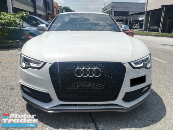 Audi A5 S5 Sline Facelift Front lip skirt  Exterior & Body Parts > Car body kits