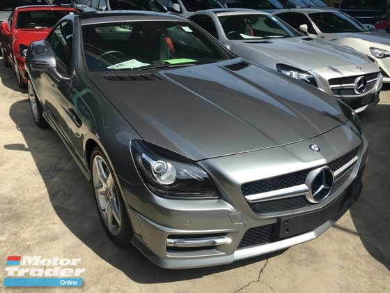 2014 MERCEDES-BENZ SLK SLK200 AMG BLUE EFFICIENCY SPORTS P-ROOF