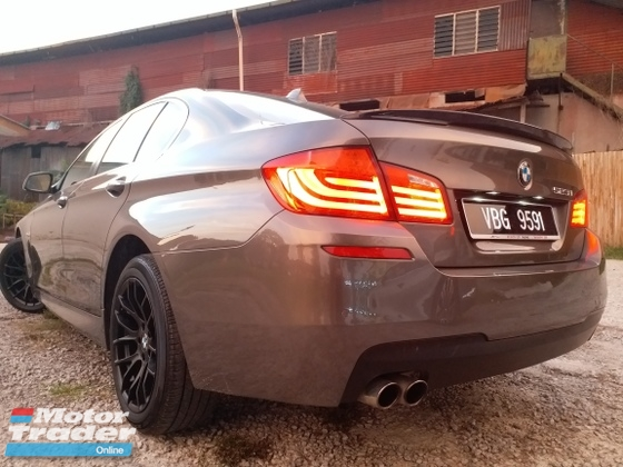 2012 BMW 5 SERIES 523I F10 M-SPORTS BODY KIT FULL SERVICE LOW MILEAGE 1 OWNER LIKE NEW CAR