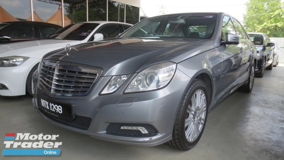 2010 MERCEDES-BENZ E-CLASS E200 AT