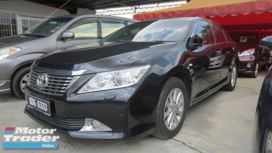 2012 TOYOTA CAMRY 2.0 (A) G
