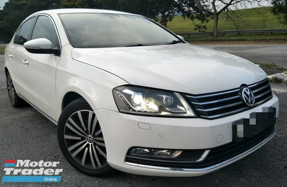 2013 VOLKSWAGEN PASSAT 1.8 TSI (A) FULL LOAN TIP TOP