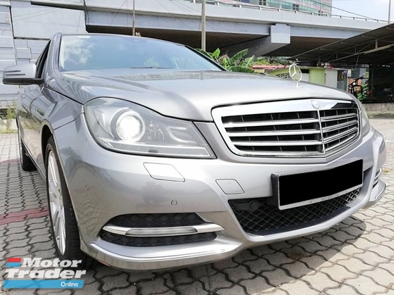 2012 MERCEDES-BENZ C-CLASS C200 CGI BLUE EFFICIENCY C250 1.8 TURBO LOW MILEAGE (84K)