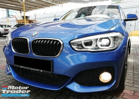 2016 BMW 1 SERIES 120I M SPORT F20 M-SPORT LOCAL FULL SERVICE RECORD AND UNDER WARRANTY UNTIL 2021