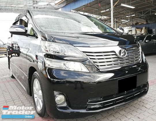 2011 TOYOTA VELLFIRE 3.5V L EDITION ESTIMA 2.4G AERAS ALPHARD POWER DOOR BOOT
