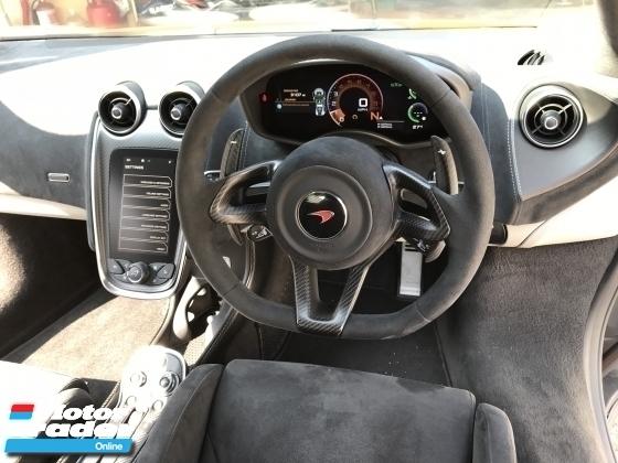 2017 MCLAREN 570 S 3.8 V8 FUNKY ORANGE UNREG TRACK PACK UK