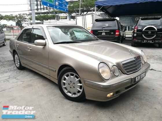 2002 Mercedes Benz E Class E200 Kompressor Ckd Local Tiptopcond Rm