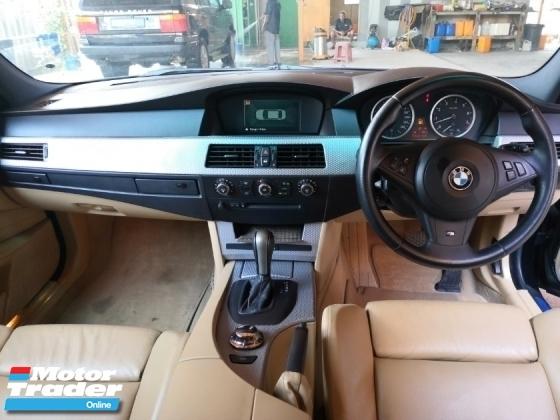 2005 BMW 5 SERIES 525i 2.5 (A) M-SPORT E60 525i M-PERFORMANCE