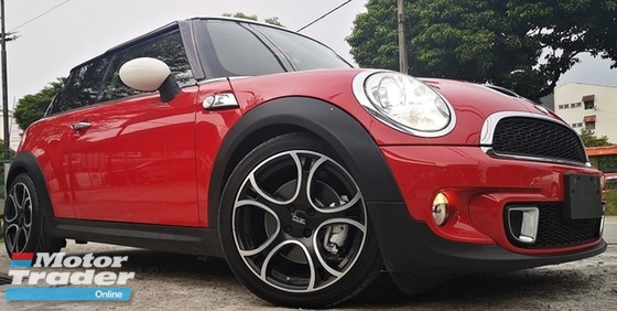 2013 MINI Cooper S 2013 MINI COOPER 1.6S JAPAN SPEC UNREG CAR SELLING PRICE ONLY ( RM 109000.00 NEGO ) CAR BODY  RED