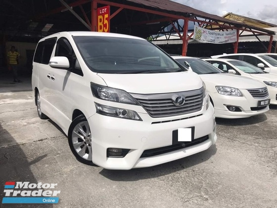 2008 TOYOTA VELLFIRE 2.4V (A) 2 Power Door 8 Seated