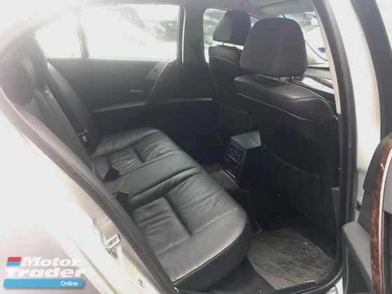 2007 BMW 5 SERIES E60 523i L6 2.5 CKD (ACTUAL YR MADE 2007)(MAGNESIUM ENGINE)(TIP TOP) (KL CHERAS AREA)