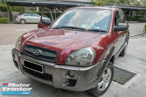 2005 HYUNDAI TUCSON 2WD