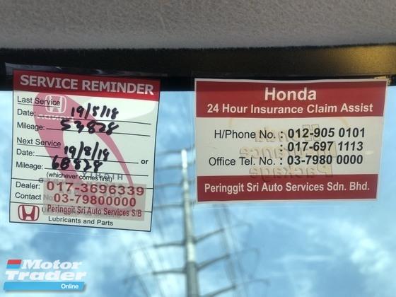 2014 HONDA JAZZ 1.5 FULL SERVICE RECORD TIPTOP CONDITION