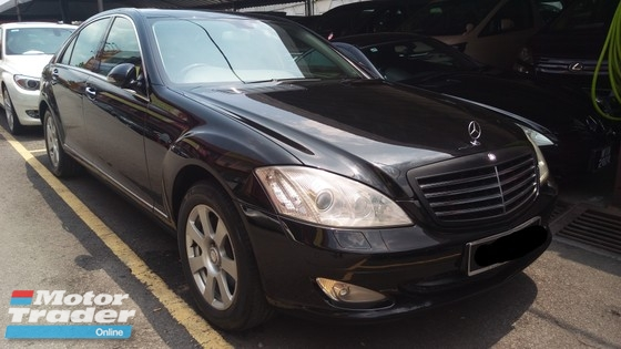 2007 MERCEDES-BENZ S-CLASS S300L V6 3.0 (ACTUAL YR MADE 2007)(LONG WHEEL)(1 OWNER)(FULL SPEC)(CKD LOCAL SPEC)