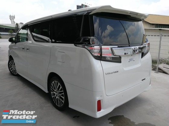 2017 TOYOTA VELLFIRE 2.5ZG Edition SUNROOF PRECRASH UNREGISTERED