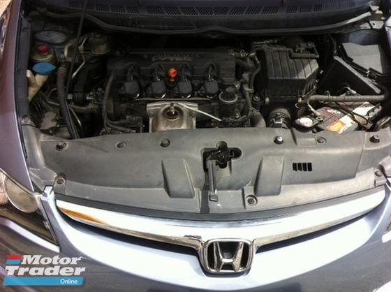 2009 HONDA CIVIC 1.8L.Leather Seat,4 Disc.Brake,Full Bodykit,Tip Top Condition…..