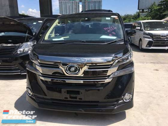 2015 TOYOTA VELLFIRE 2.5 japan spec 2018