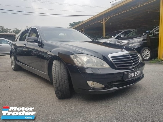 2008 MERCEDES-BENZ S-CLASS S300L V221, LOW KM, FULL LEATHER, FACELIFT