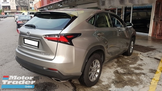 2015 LEXUS NX 200t 2.0 (UNREG) Lexury More Spec By AlenLim