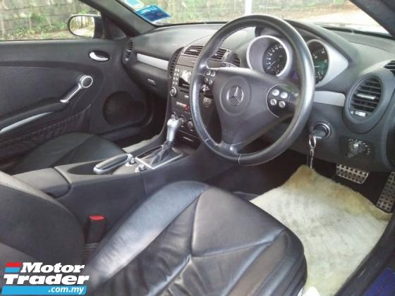 2005 MERCEDES-BENZ SLK 200 K4 1.8 Barbus (A) *Limited Units, High Spec, Sport Rims, Leather*