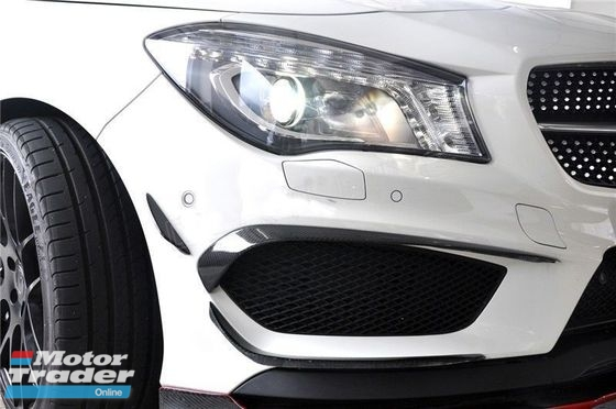 CLA 250 CLA45 AMG Carbon Canard skirting bodykit  Exterior & Body Parts > Car body kits