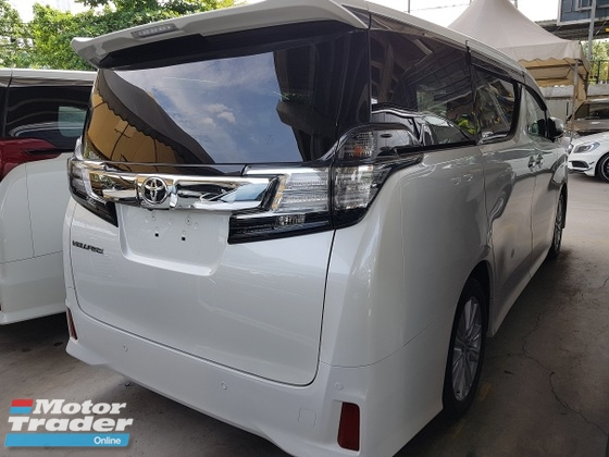 2015 TOYOTA VELLFIRE 2.5 ZA 7 Seats Surround Camera 2 Power Doors Unreg