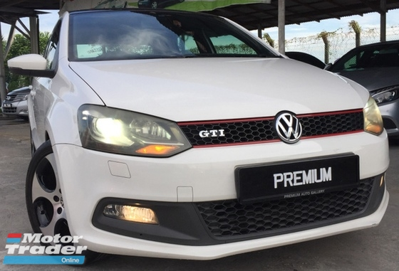 2011 VOLKSWAGEN POLO 1.4 GTI TURBOCHARGED LIMITED MODEL