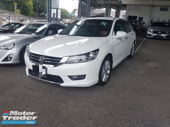 2014 HONDA ACCORD 2.0 VTI-L FULL SERVICE RECORD (ACTUAL YEAR MAKE 2014)