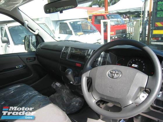 2018 TOYOTA HIACE window van