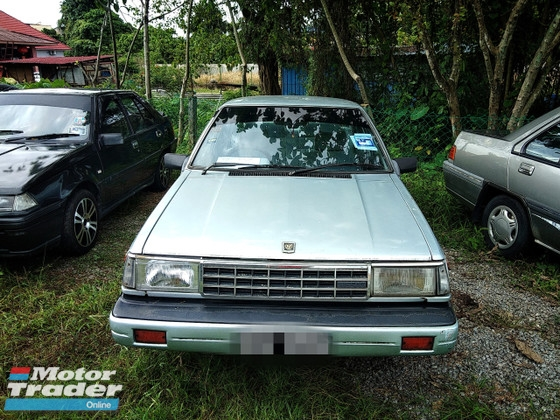 1994 NISSAN SUNNY 1.5 FULL Spec(MANUAL)1994 Only 1 Careful UNCLE Owner, LOW Mileage, TIPTOP, ACCIDENT-Free, DIRECT-Owner, NEGOTIABLE with CD Player