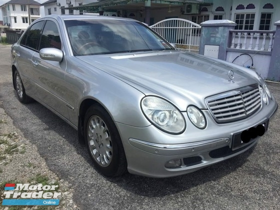 2003 MERCEDES-BENZ E-CLASS E200K KOMPRESOR W211 - PERFECT CONDITION