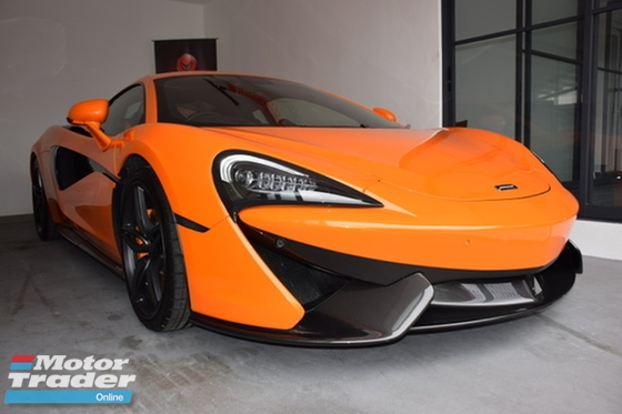 2017 MCLAREN 570 S 3.8 VENTURA ORANGE PRICE DROP VIEW NOW
