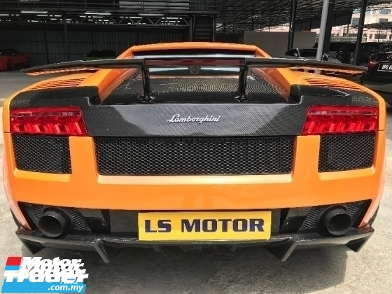 2007 LAMBORGHINI SUPERLEGGERA GALLARDO 5.0 V 10 NEW FACELIFT MODEL - LIMITED UNIT, 618 UNITS ONLY,REG 2009,FULL SERVICE RECORD,CARBON RIM,1VVIP OWNER,ACC FREE,PERFECT CONDITION,VIEW TO BELIEVE..