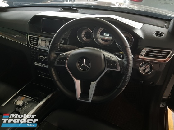 2013 MERCEDES-BENZ E-CLASS 2.0 AMG SPORT PACKAGE Unregistered NO GST PRICE