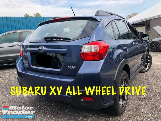 2014 SUBARU XV ORIGINAL STI AND UNDER WARRANTY FULL LOAN EASY APPROVED