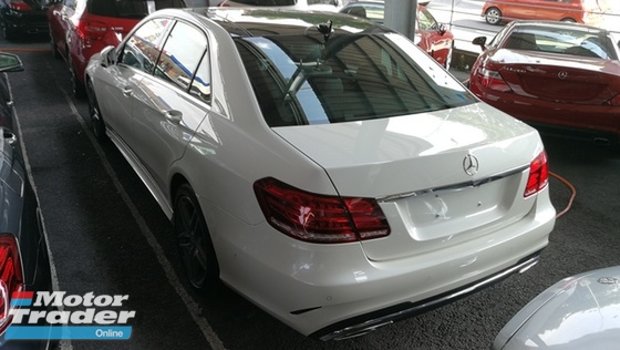 2014 MERCEDES-BENZ E-CLASS E200 AMG P.Roof  GST Waived