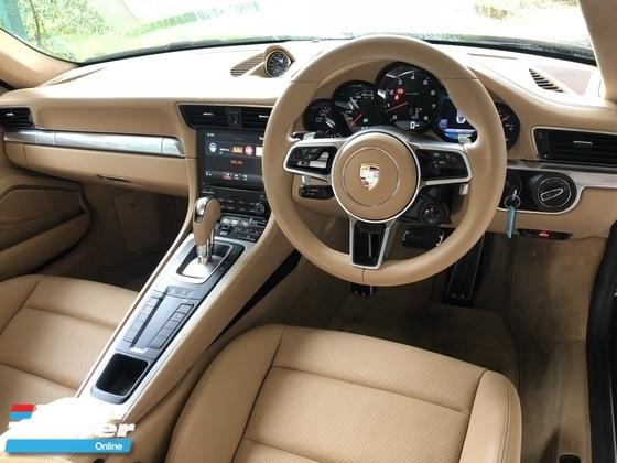 2016 PORSCHE 911 3.0 Turbocharged 7-PDK Sport Chrono 370hp PCM PASM BOSE Surround PDLS PVTS GT Paddle Shift Bluetooth Connectivity Unreg