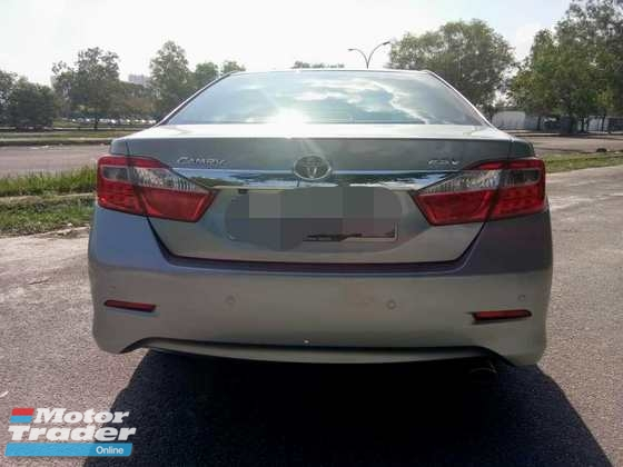 2013 TOYOTA CAMRY 2.5 G (A ) GENUINE YEAR MADE 2013
