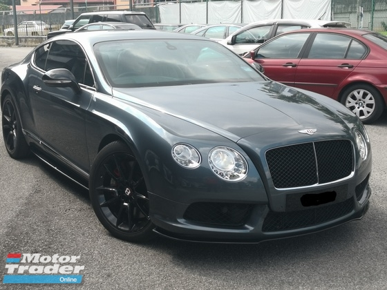 2014 BENTLEY CONTINENTAL GT SPEED V8s VVIP USED UNIT