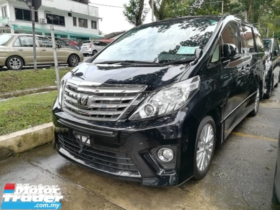 2013 TOYOTA ALPHARD 350S C PACKAGE